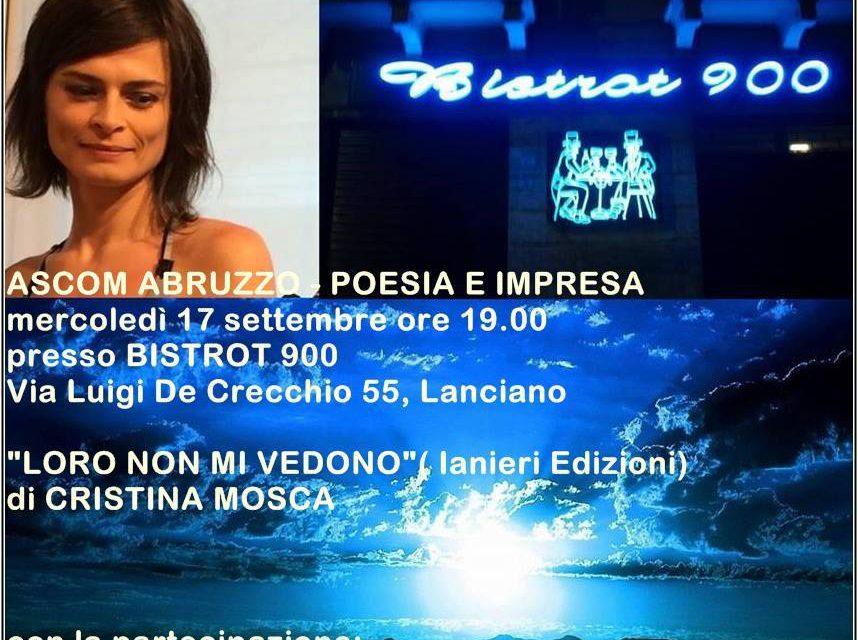 Ascom Abruzzo ritorna con l' evento POESIA e IMPRESA a Lanciano.