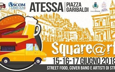 Atessa. Dal 15 al 17 giugno street food, cover band e artisti di strada