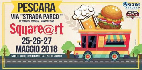 Square@rt Pescara – 25~27 maggio 2018
